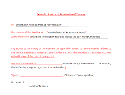 lease agreement letters 45 eviction notice templates lease termination letters