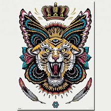 купить корона временый боди арт стикер татуировки оптом из китая