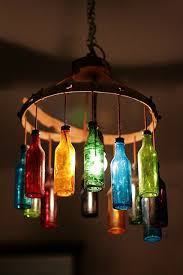 i love the jewel tones of these glass bottles