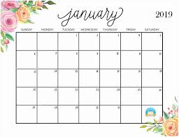 free printable 2019 monthly calendar 46 free cute printable 2019 monthly calendar