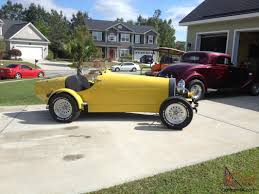 Car is located north of pittsburgh, a. 1927 Bugatti Boat Tail Speedster Replica Hot Rod Classic Styling