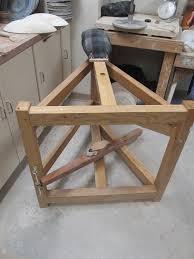 anatomy of a treadle wheel