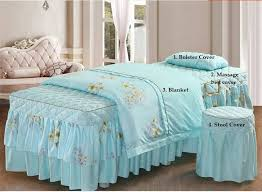 Massage Table Beauty Bed Cover Sheets Set With face hole (Australian ...