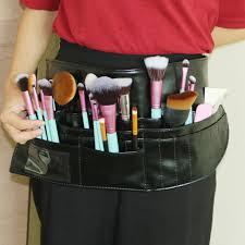 multifunction makeup brush bag pvc a bag professional makeup artist belt strap protable make up bag