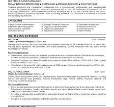 Banking Resumes Samples Download Banking Resume Samples Commercial