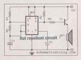 simple rat repellent circuit diagram simple circuit diagram inverter transformer winding calculation at Tpv Wiring Diagram