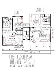 duplex floor plans 2700 sq ft 3 unit 2 floors 3 bedroom handicap accessible indianapolis ft