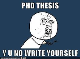 How to Write a PhD Thesis Your Committee Will NOT Approve Next Scientist