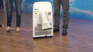 Sichler Hocheffektive Mobile Monoblock Klimaanlage 9000 Btuh 1050 W