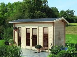 Die Bodentiefen Fenster Von Dem Modernen Gartenhaus Helgoland Lassen