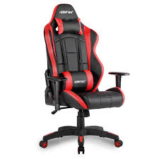com merax racing gaming chair high back desk chair ergonomic design computer chair red and black office s