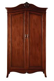 Solid Mahogany Bedroom Furniture Louis French Solid Mahogany 2 Door Double Wardrobe Oak Furniture Uk
