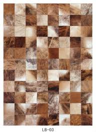 Cow Leather Carpet, Cowhide Rug LB03