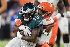 Falcons Depth Chart 2018 Philadelphia Eagles Announce First Regular Season Depth