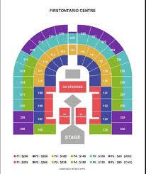 Seating Chart Hamilton