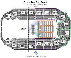 Santa Ana Star Seating Chart Santa Ana Star Center Tickets Santa Ana Star Center Seating