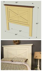 Headboard Alternative Ideas Best 25 Farmhouse Headboards Ideas On Pinterest Farm House
