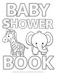 Socially distanced baby shower invitations. Baby Shower Abc Coloring Book By French English And Spanish Immersion For Kids
