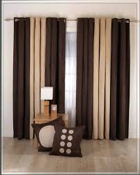 burdy curtains for living room curtain ideas home design gallery brown and cream