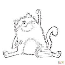 Small Picture Cat Coloring Page zimeonme