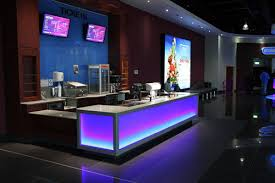 Modern mercial Bar Furniture LED Bar Counter