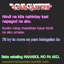 Funny Quotes About Love Tagalog | Quotes via Relatably.com