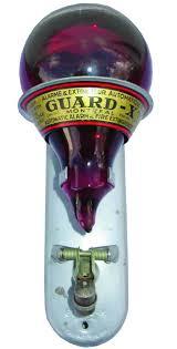 antique guardx canadian fire grenade