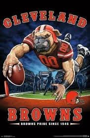 cleveland browns browns pride since 1946 nfl theme art poster liquid blue  on cleveland sports teams wall art with nfl football team logo posters tagged cleveland browns posters