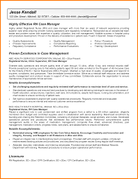 sample case manager resumes fair nurse case management resume samples with sample resume for