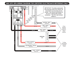spa gfci wiring diagram wiring diagram schematics baudetails info gfci breaker wiring diagram for hot tub gfci wiring