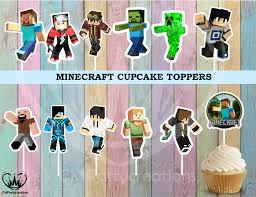 Products Tagged Minecraft Cupcakes Cmpartycreations
