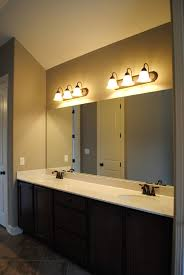 bathroom mirror lighting fixtures. Lighting Over Large Bathroom Mirror Mirrors Ideas Fixtures N