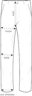 Mizzen And Main Size Chart Size Guide Fit Guide Rodd Gunn