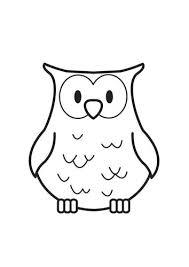 Coloriage Une Chouette Rentrée Ahazırlık Owl Coloring Pages