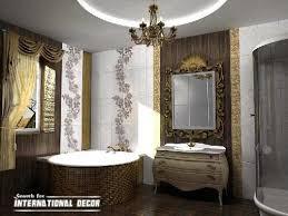 luxury bathroom furniture. Design Luxury Bathroom In Classic Style Furniture