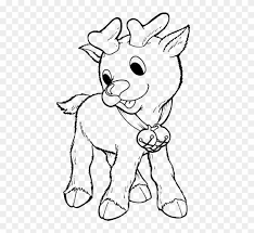 christmas baby reindeer coloring pages. Christmas Baby Reindeer Coloring Pages Preschool In To