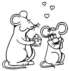 Muizen Kleurplaten Muizen Pagina De Muis Als Huisdier