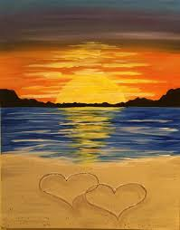 i am going to paint romance on the beach at pinot s palette galleria to discover my inner artist
