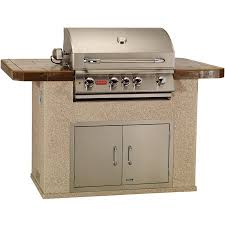 Bull Outdoor Products MasterQ BBQ Island With Burner Angus Gas - Bull outdoor kitchen
