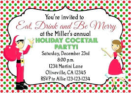 Christmas Wording Samples Christmas Party Invitations Wording