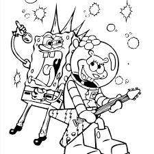 Premium Christmas Spongebob Squarepants Coloring Pages 20 Squidward