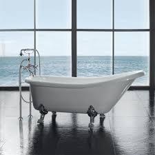clawfoot bathtubs freestanding bathtubs the home depot with regard to bear claw bathtub bear claw bathtub