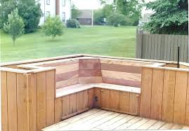 outdoor bench with planter boxes view larger built in deck benches with backs outdoor bench planter boxes