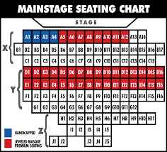 Gammage Seating Chart Seating Charts Fountain Hills Theater Best Live Theater