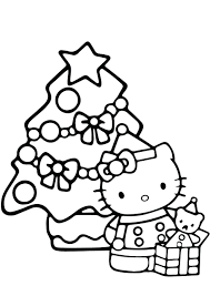 Find more hello kitty angel coloring page pictures from our. Hello Kitty Christmas Coloring Pages Best Coloring Pages For Kids