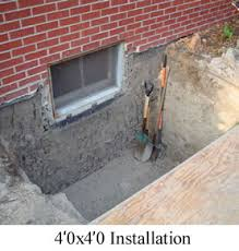 brick basement window wells.  Basement Egress Window Construction With Brick Basement Wells W