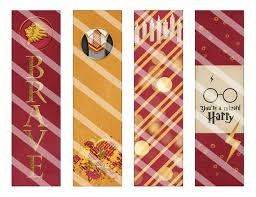 Bookmark Designs To Print Get These Enchanting Diy And Printable Harry Potter Bookmarks