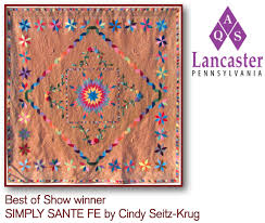 """American Quilter's Society - Quilting Community: AQS News - AQS ... & Winning Quilt - """"Simply Sante Fe"""" Adamdwight.com"""