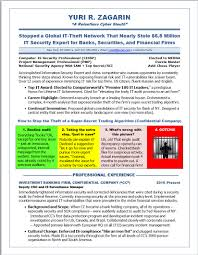 Security Resume Sample Illustrated Resume Samples Cyber Security 43