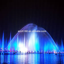 Lighted Water Fountain Outdoor Decor Large Outdoor Decorative Fountain Music Water Fountain With Color Changing Fountain Light For Lake Buy Outdoor Decorative Fountain Music Water
